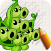 Download Art Drawings: Plant and Zombie APK