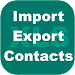 Export Import Excel Contacts