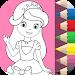 Download Princess Coloring Book \u2764 APK