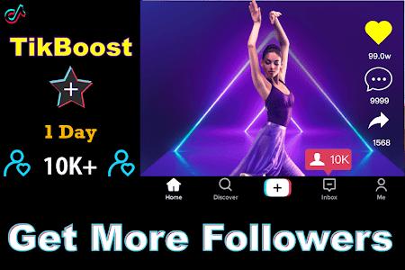 Download TikBooster for Tiktok followers & fans & like free APK